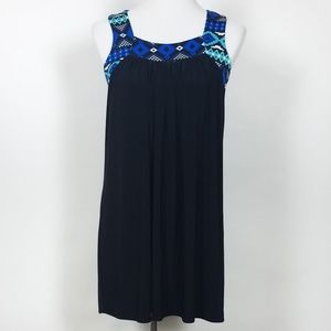 T-Bags NWT Sleeveless Black Jersey Dress
